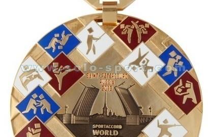 Медаль Всемирные Игры Боевых Искусств 2013
