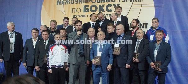 Медали на Кубок Губернатора Санкт-Петербурга 2014