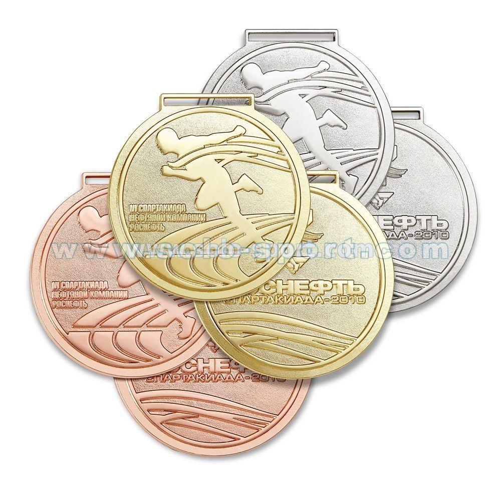 Медаль VI спартакиада компании Роснефть