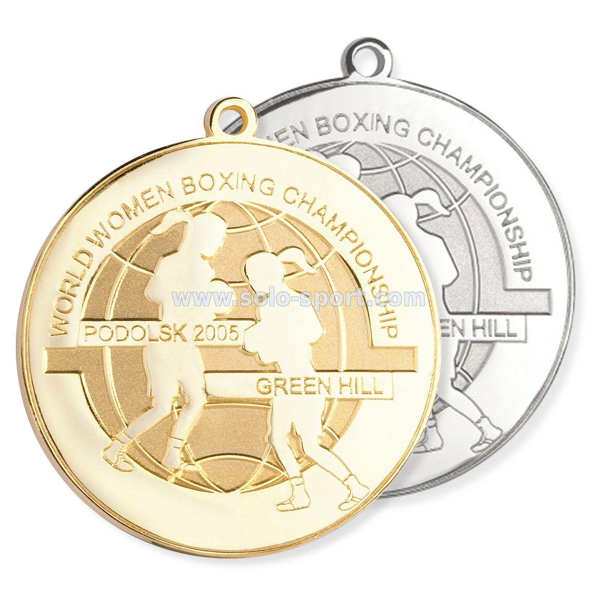Медаль Чемпионат мира по боксу среди женщин 2005