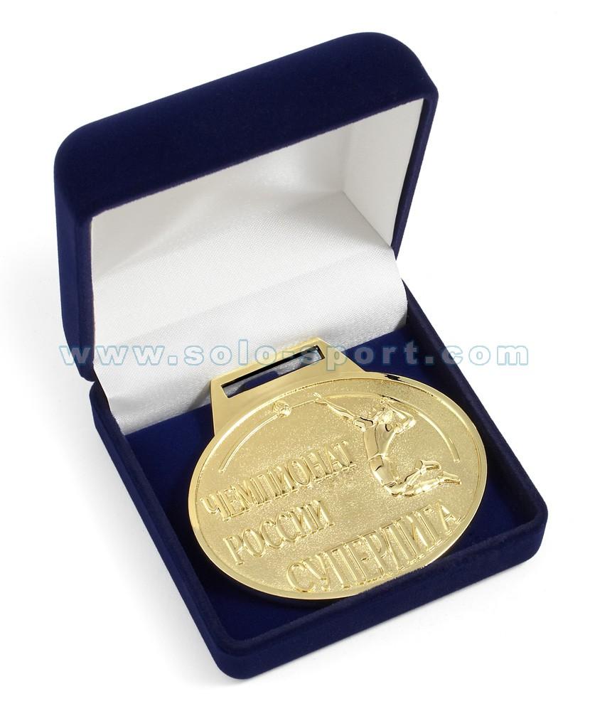 Медаль в упаковке Чемпионат России по волейболу