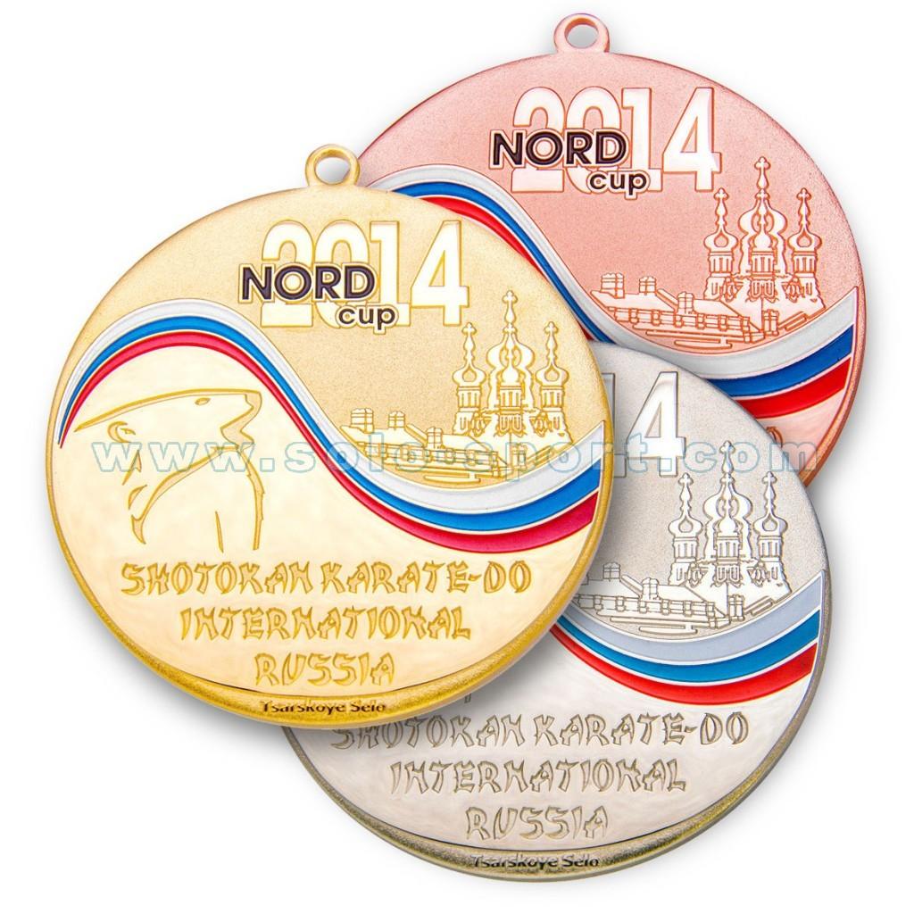 Спортивная медаль NORD CUP 2014