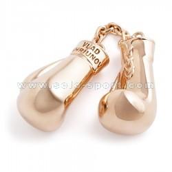 Ювелирная подвеска из золота Боксерские перчатки