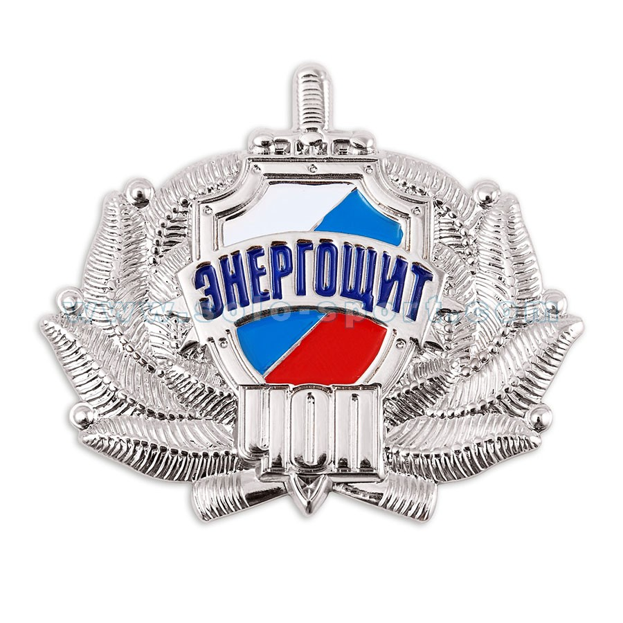 Кокарда ЧОП Электрощит