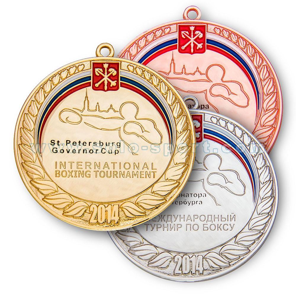 Медаль Кубок Губернатора Санкт Петербурга 2014