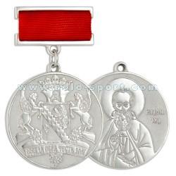Медаль на колодке Всегда вера честь долг