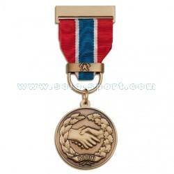 Медаль ВДПО. За содействие в борьбе с пожарами