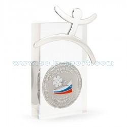 Медаль в акриле Русская зима 2008. Победитель