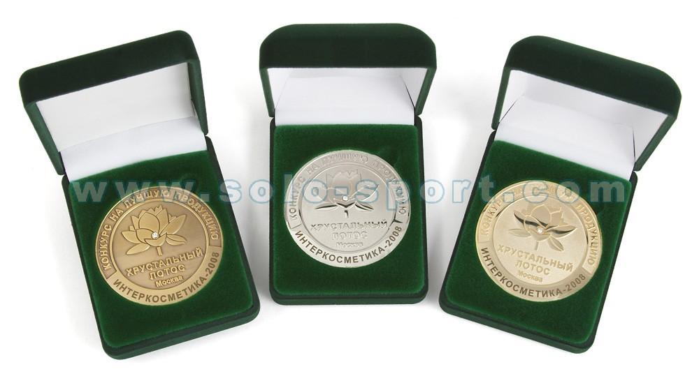 Медали в упаковке Хрустальный лотос - Интеркосмети