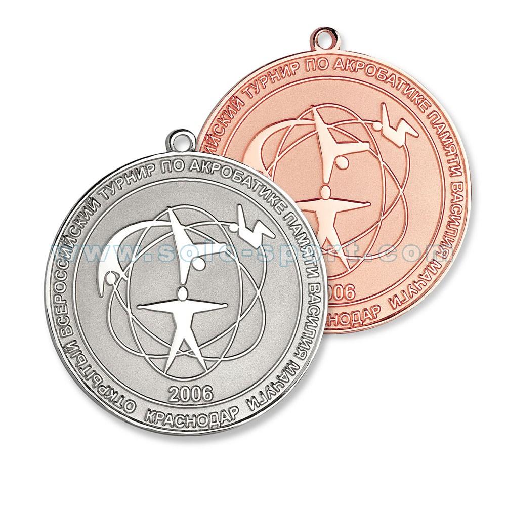 Медали Всероссийский турнир по акробатике
