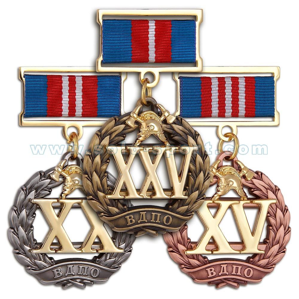Медали за выслугу лет в ВДПО