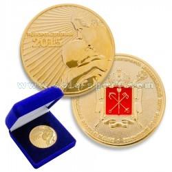 Памятная медаль Новорожденный 2015