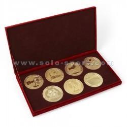 Подаорочный набор из семи медалей