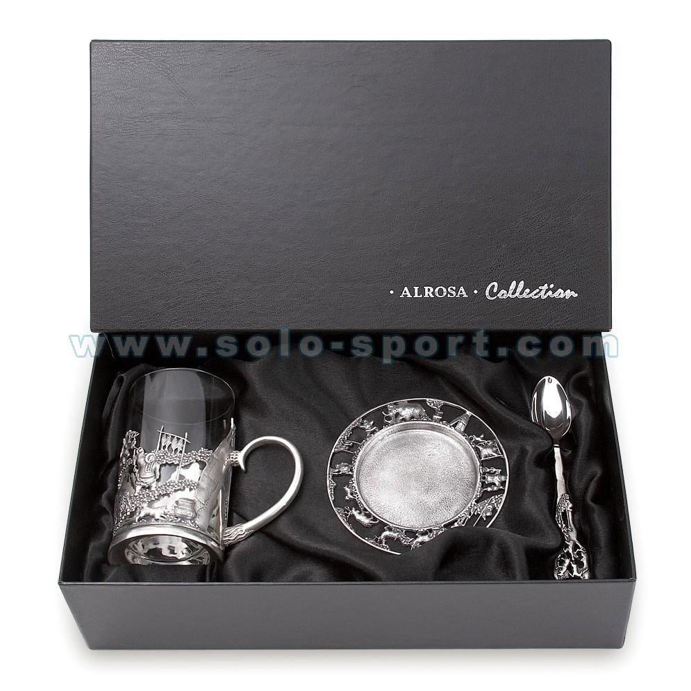 Сувенирный набор из серебра Alrosa Collection