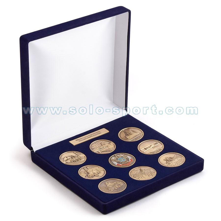 Сувенирный набор медалей Министерство транспорта РФ