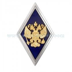 Знак нагрудный Военное училище