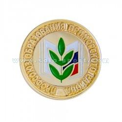Знак Профсоюз образования Приморского района