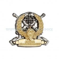 Знак Соревнования снайперских пар в г. Краснодаре