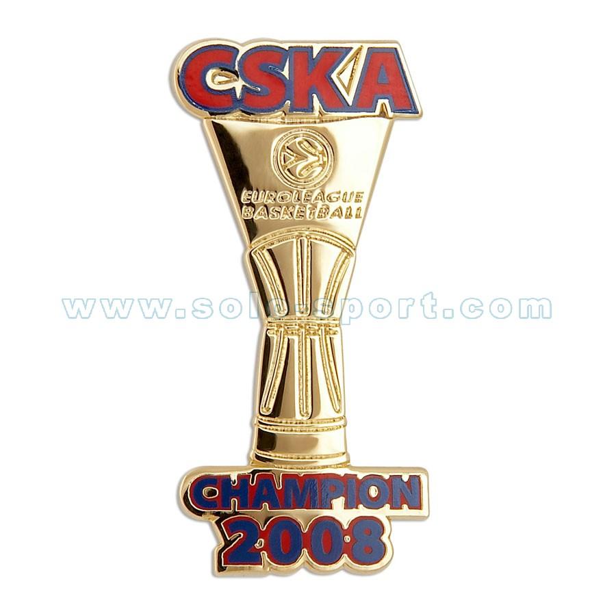 Знак CSKA Champion 2008