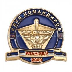 Знак Клуб командиров. Улан-Удэ 2009